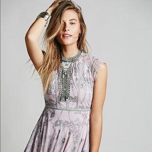 FREE PEOPLE Laurel dusty lilac dress